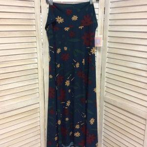 NEW LuLaRoe Floral Maxi Skirt